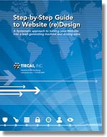 Step-by-step Website redesign guide from Tiecas
