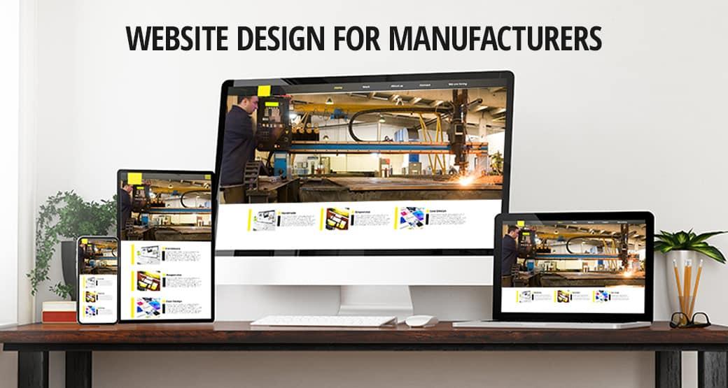 Website Design for Manufacturers