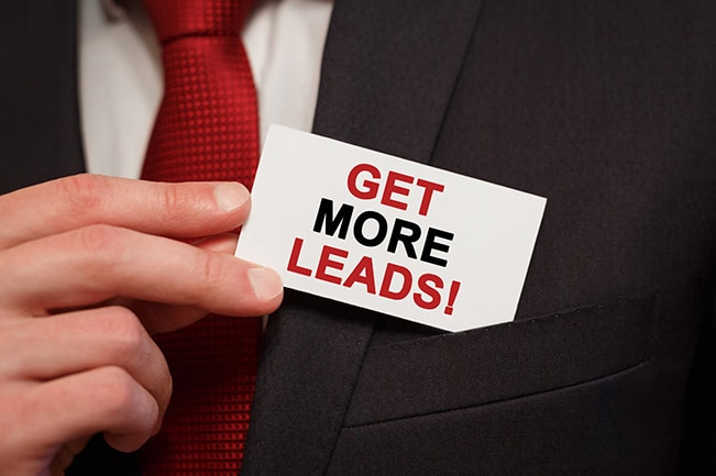 Content-centric industrial lead generation