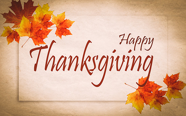Happy Thanksgiving from IMT
