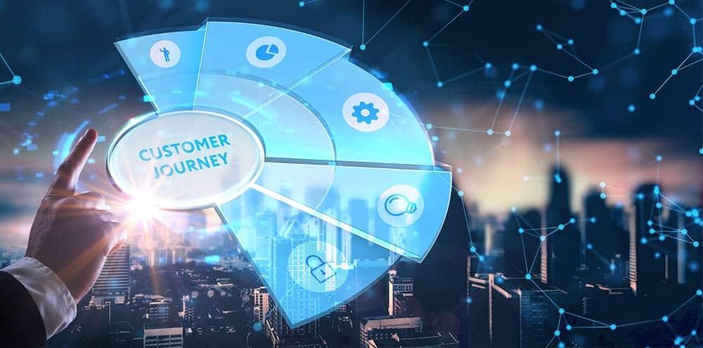 Industrial customer journey