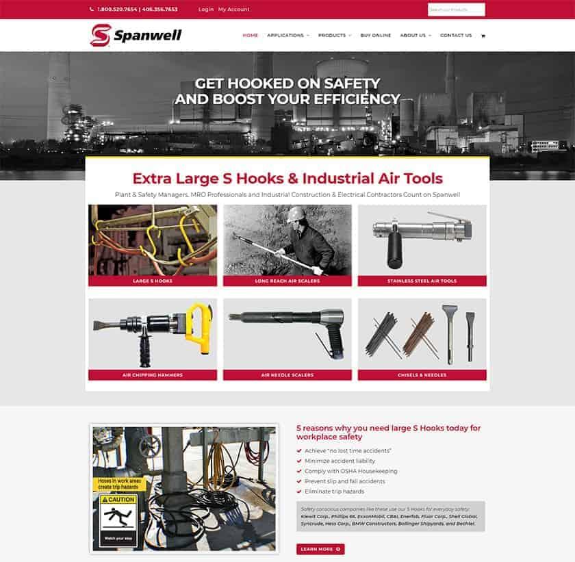 E-commerce redevelopment for manufacturer